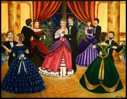 A Victorian Ball by Bonniemarie