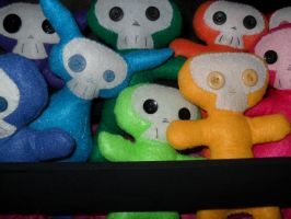Skull Babies by money4cocaine