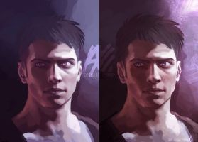 dmc - Dante (work in progress) by the-evil-legacy