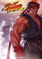 Street Fighter RYU by darkeyez07