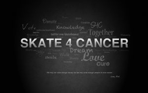 Skate4Cancer Wallpaper by b4ddy