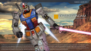 Digital Imaging, RX 78-2 Gundam by iludov