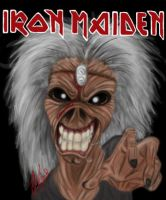 Iron Maiden's Eddie by JoJoTeddy4