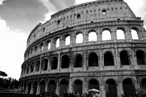 Colosseum 3 BW by alexandruana