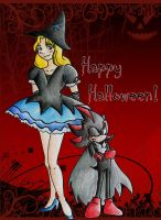 Happy Halloween! by stefi-tails