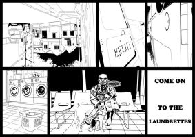 guide dog at the laundrette full strip by Mckdirt