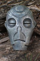 Skyrim: DragonPriest Mask by JarmanProps