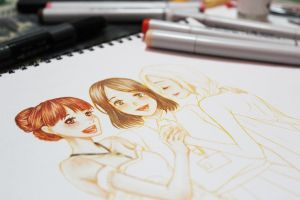 Copic WIP by itsAriecha
