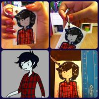 Marshall Lee Keychain by cali-cat