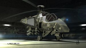 ladybug attack helicopter 3 by wilzoon