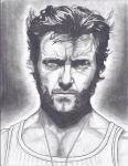 Hugh Jackman by Joezart