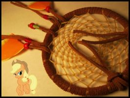 Apple Jack Dream-Catcher by InuHalfDemon