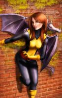 Kitty Pryde by gbrsou