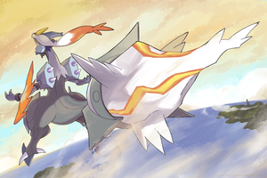 White Kyurem by nganlamsong