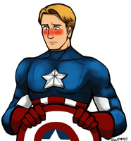 Steve Rogers by SuppieChan