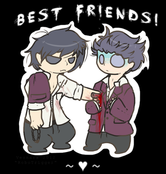 :Corpse party: The bestest of friends. by Veonara