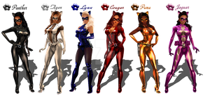 imvuART: Official P.A.W.S. Feline Force :3 by Krypto4CatSuits