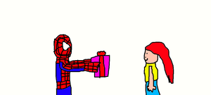 Spider-Man's Present for Mary Jane by Simpsonsfanatic33