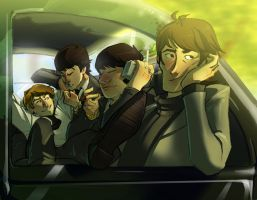 Sunday Driving, Not Arriving by Crispy-Gypsy