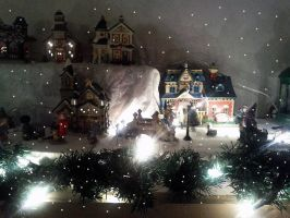 Xmas village 2 by M-J-Gagne