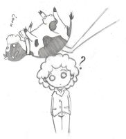 Dropping Cows on Ray's Head by EpikAsia