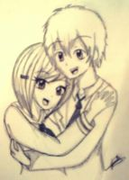 .:Takeru and Hikari:. by BonnieHeart20