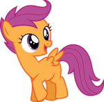 Happy Scootaloo (S05 E06) by Clashwolf3