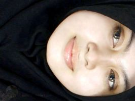 black hijab by zonicMdh