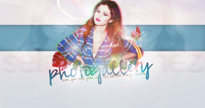 Selena Gomez Gallery Header by sort-of-invisible