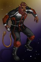 Commish : Admiral Kit Clawstar by wansworld