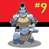 My Top 10 Pokemon: #9 BLASTOISE by the-real-Payne