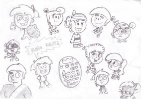 channel chasers doodles by Chibi-Danny