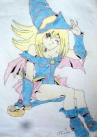 Dark Magician Girl by Project-GenEx
