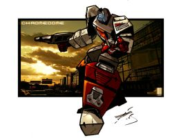 Chromedome  Wallpaper by dcjosh