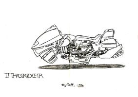 Thunders Hover Bike by Epe