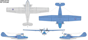 Consolidated PBY Catalina by bagera3005