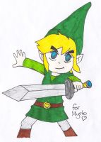 Link - For Myrto :3 by Jeako