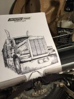 Typewritten PETERBILT by lordnkon