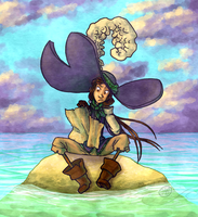 Tragic Tale of an Empty Island by Essemjeeves