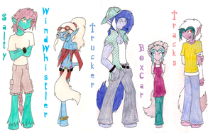 MLP: Story Peoples 01 by KPenDragon