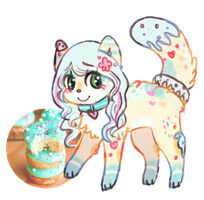 donut cat adopt OPEN by viiolence