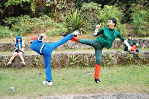 Recca vs Rock Lee by z3LLLL