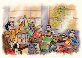 The Classroom by ozzyfreeloader
