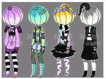 Pastel Pumpkin Adopts (4/4)(OPEN) by Assorted-Adopts