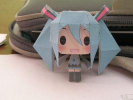 Miku Papercraft by aces-of-the-sky