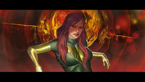 Jean Grey by Zesiul
