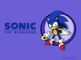 SatAM: Sonic wallpaper by ThePandamis