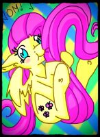Nom Fluttershy by HonorandPride