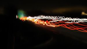 Wiggly Light Trails by puffthemagicdragon92