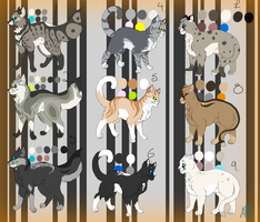 Adoptables :OPEN: by Sprouteeh